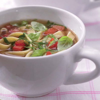 Gebonden soep
