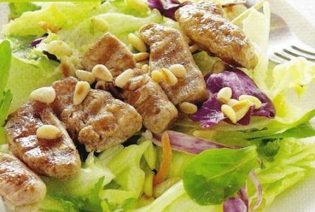 Salade ceasar slasaus