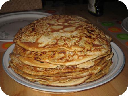 Pannenkoek met gehakt en paprika