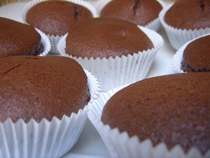 Chocolade cakejes