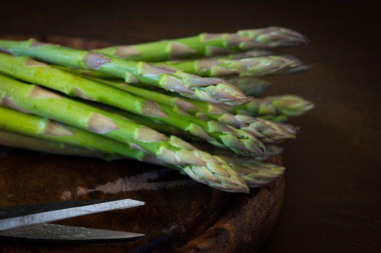 groene asperges bereiden