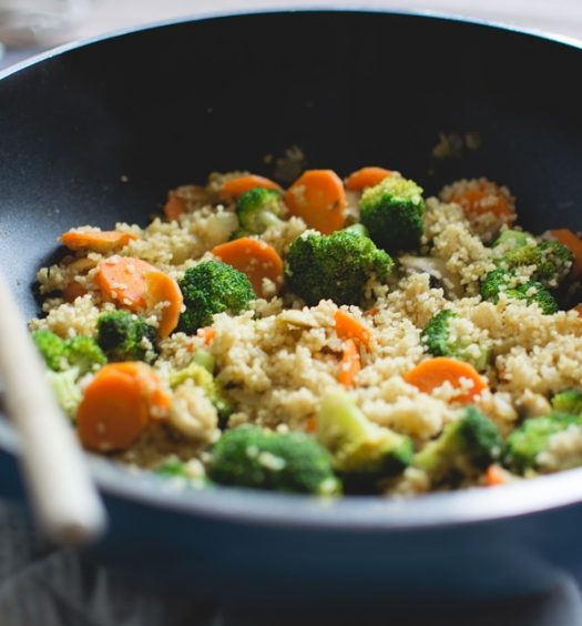 groente roerbakken