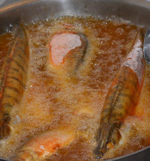 vis bakken