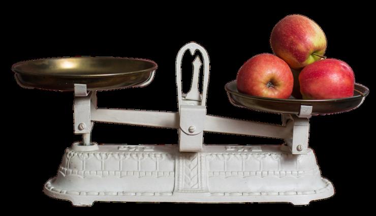 wegen en meten in de keuken