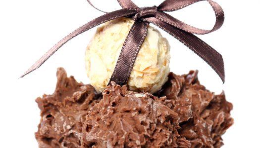 Chocolade-crunch bonbons