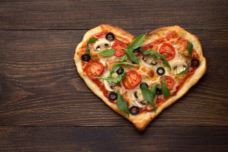 pizza hartige hartjes