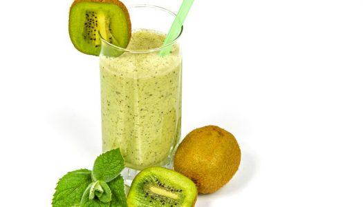 Lekkere smoothie met Kiwi