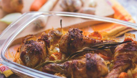 Krokante kippenpoten uit de oven