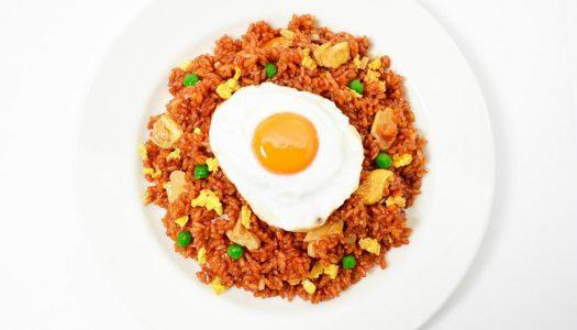 Maak zelf vegetarische Nasi Goreng