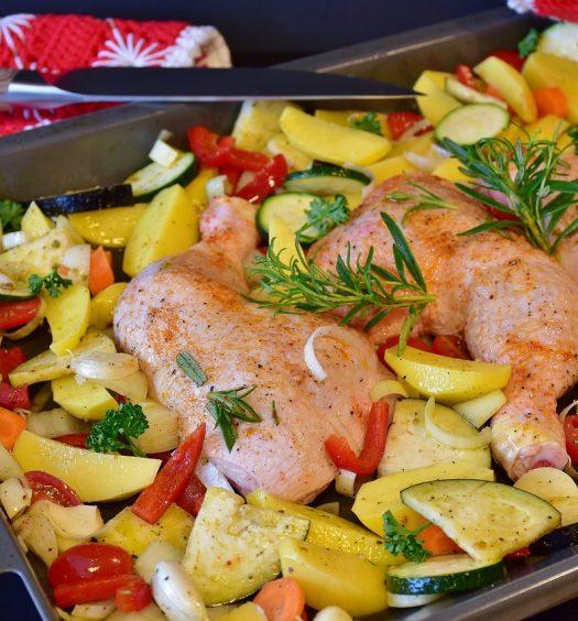 kip aardappels rozemarijn