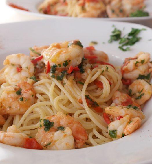 pittige pasta